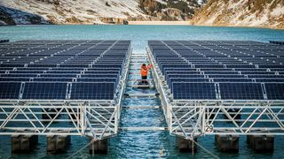 Siden reservoaret dreneres hver vinter, får verken planter eller dyr tid til å utvikle seg i området. Dermed vil ikke solcelleanlegget utgjøre noen fare for et naturlig økosystem, ifølge energiselskapet.