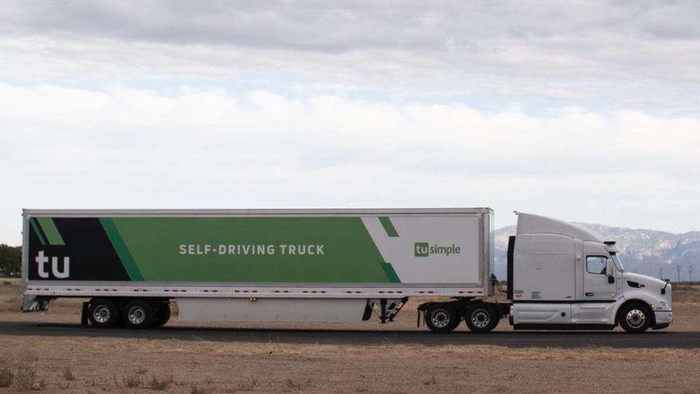Det førerløse systemet i lastebilen er utviklet av Tusimple, med hovedkvarter i San Diego, USA.