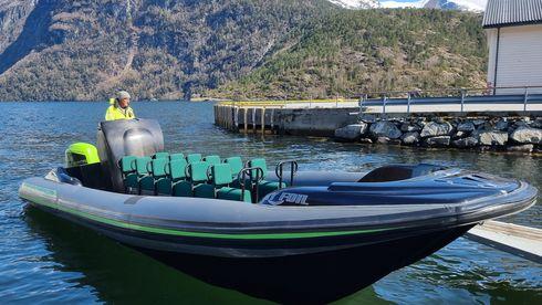 Nå kan turistene i Geiranger nyte naturen uten diesellukt og motordur