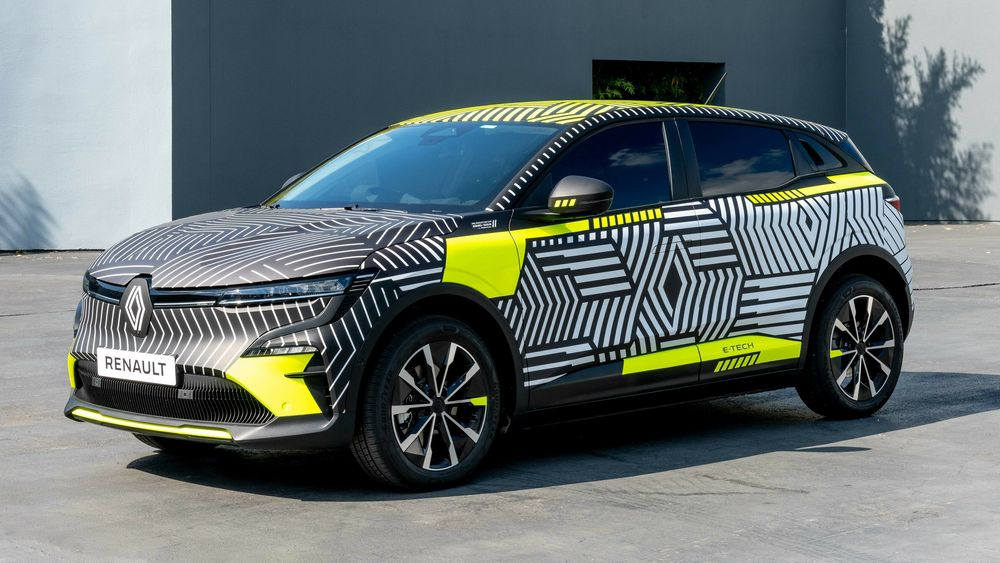 Renault Mégane E-Tech Electric.