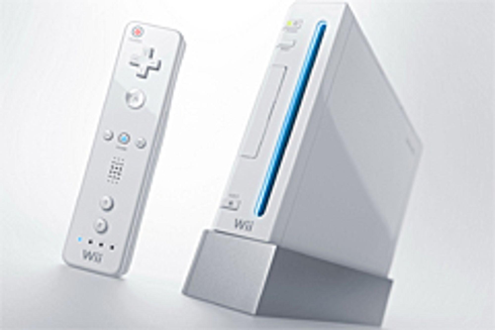 Si din mening på Wii