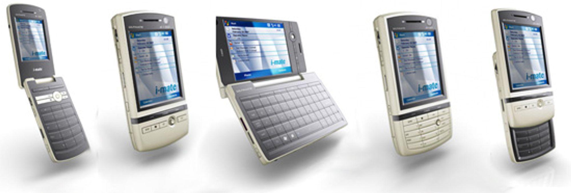 Fra venstre: 9150, 6150, 7150, 8150 og 5150 (Bilder: Engadget Mobile)