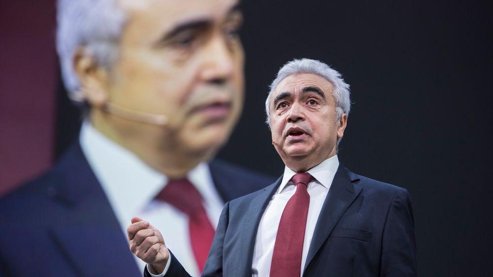 IEA-sjef Fatih Birol under en konferanse i Norge i 2019.