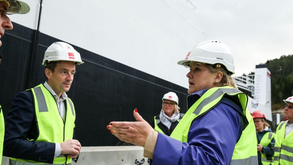 Bodø, Stavanger og Kollsnes er blant stedene som ble trukket fram da statsminister Erna Solberg la fram et veikart for hydrogen 11. juni 2021.