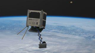 Verdens første satellitt av kryssfiner er klar for verdensrommet