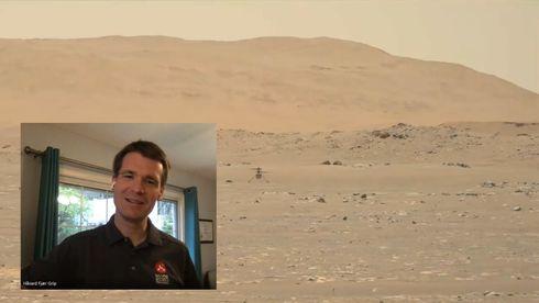 Mars-pilot Håvard Grip: – I det øyeblikket forsvant alle bekymringene med et «poff»