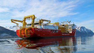 Leggeutstyret til Nexans Aurora er levert av Maats Technology fra Storbritannia. Norske leverandører står bak 85 prosent av innkjøpte tjenester og utstyr.