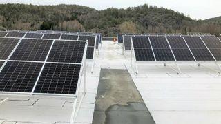 Isola bifacial solceller tosidige paneler mestertekk takmembran tgn energy heine riise ife jørgen young tommy bønsnæs talesun taktekker