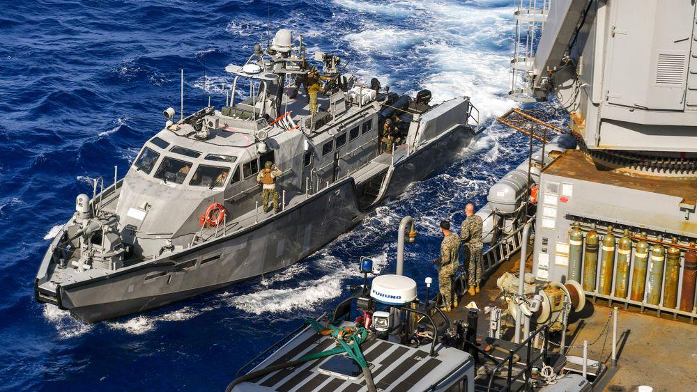 16 slike Mark VI patruljebåter skal Ukraina motta fra USA, og målet er å supplere med minst åtte missilbåter og fire korvetter som begge kan bli bestykket med NSM.