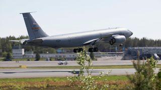 Amerikansk tankfly kjørte av rullebanen under nordisk flyøvelse