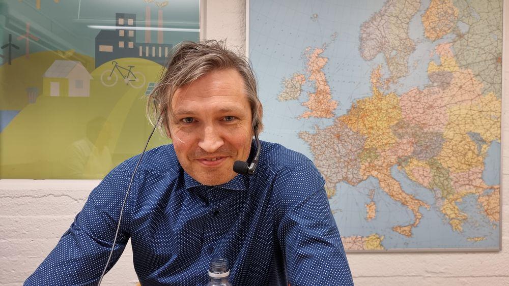 Odne Stokke Burheim er professor og sjef for den nye batterilab'en på NTNU.