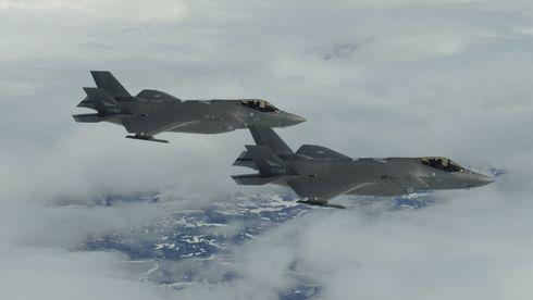 Forsvaret frigir de første bildene tatt fra et norsk F-35