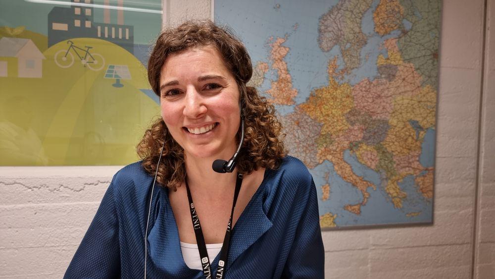 Vil spare strøm: Maria Justo Alonso er veldig opptatt av energieffektivisering i bygg. Det bør flere være.