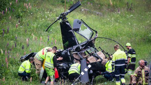 Fjerde dødsulykke med Robinson-helikopteret siden 2010 – dårlig flyvær har vært en fellesnevner