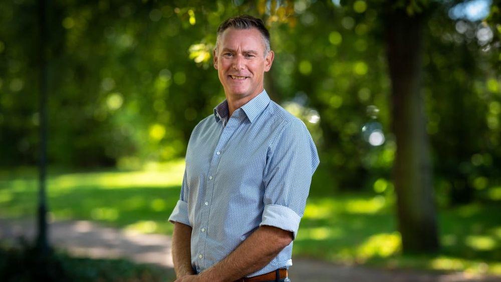 Magnus Sahlin er administrerende direktør i Trelleborgs energi.