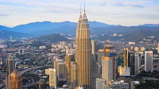 Illustrasjonsfoto. Sentrum av Kuala Lumpur, hovedstaden i Malaysia.