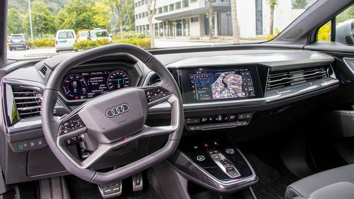 Audi Q4 E-Tron.