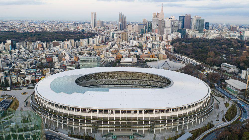Japans nasjonalstadion i Tokyo.