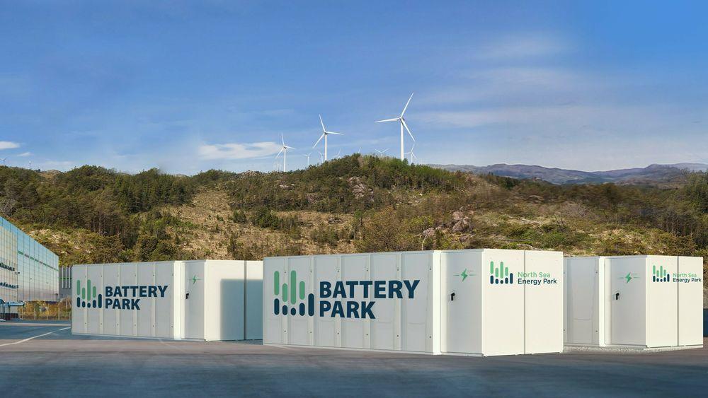 North Sea Energy Park ønsker å etablere batteripark for å kunne gjøre seg bedre nytte av vindkraften som produseres i området.