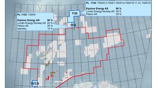 25. konsesjonsrunde: Tildeler oljelisenser nesten helt nord mot iskanten