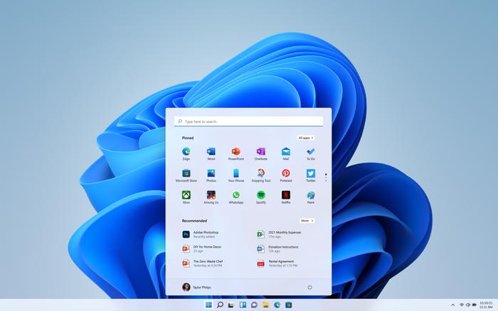 Startmenyen i Windows 11 skal gjøre det enklere å finne applikasjoner og innhold, ikke bare lokalt på PC-en.