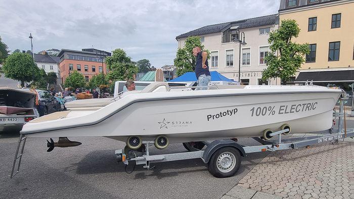 Det skal flere av den svenske elbåten Orust Strana til Norge i år.
