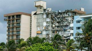 Ekspert advarte om strukturelle skader på bygningen som kollapset