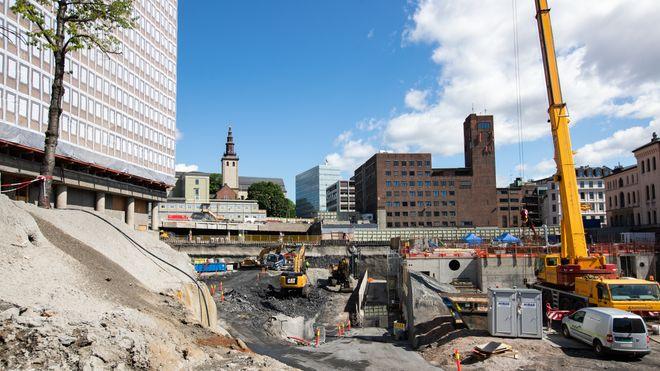 Høyblokka er tilbake i sin opprinnelige høyde fra 1958