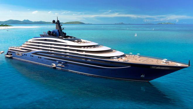 """Somnio skal ha 39 luksusleieligheter og tilby """"sakte opplevelser"""" i sus og dus for eierne. Skipet blir 222 meter langt og 27 meter bredt."""