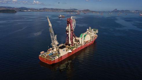 Måtte utdype havna for verdens største rørleggingsfartøy