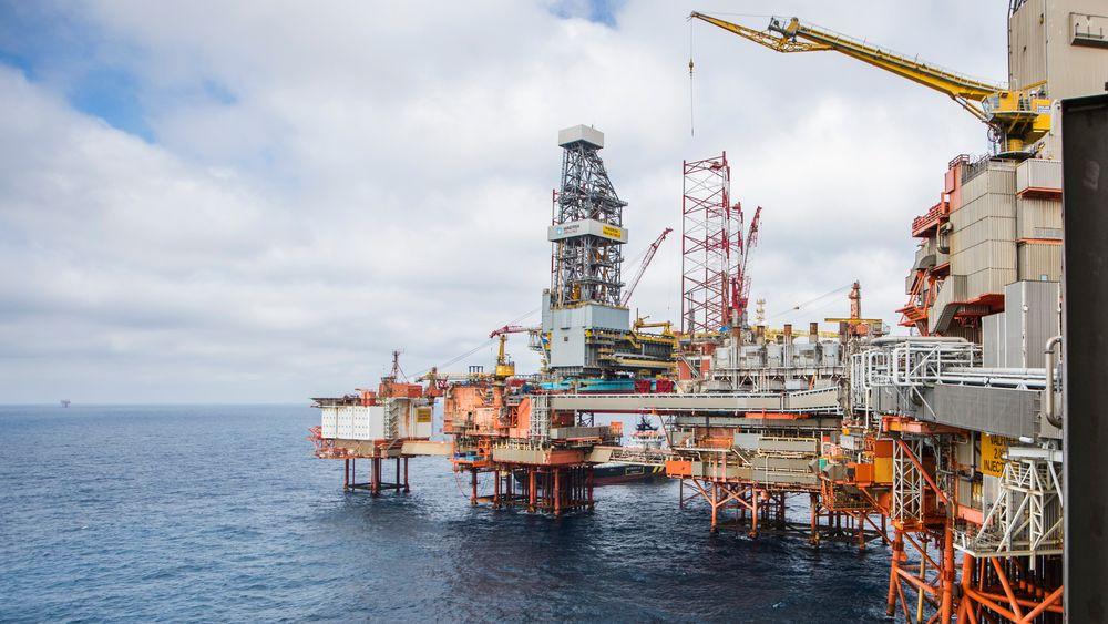 Aker BP og 231 ansatte har inngått forlik. Her er Aker BP-plattformen Valhall i Nordsjøen.