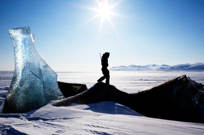Oversiktsbilde Svalbard.