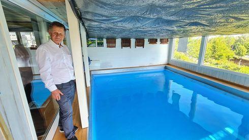 Solfanger John Rekstad Fjellhamar Inaventa Solar varmelager svømmebasseng polymer ekstruder oppvarming integrert nedbetaling