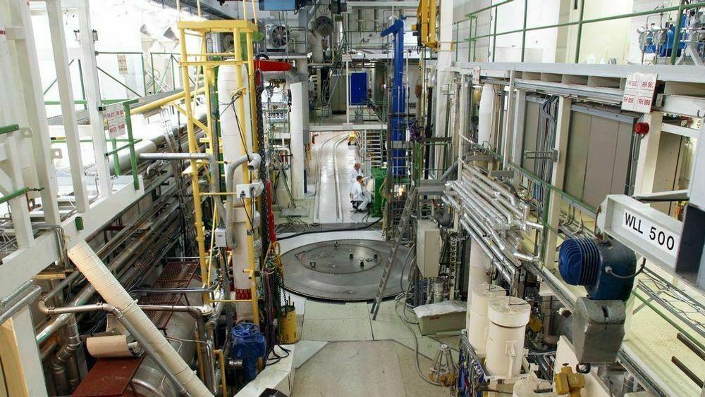 Reaktorhallen i Halden. Bakgrunnen for forskningsjukset var blant annet frykt for å miste kontrakter.