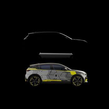 Megane er den første av flere biler som skal komme på CMF-EV-plattformen.
