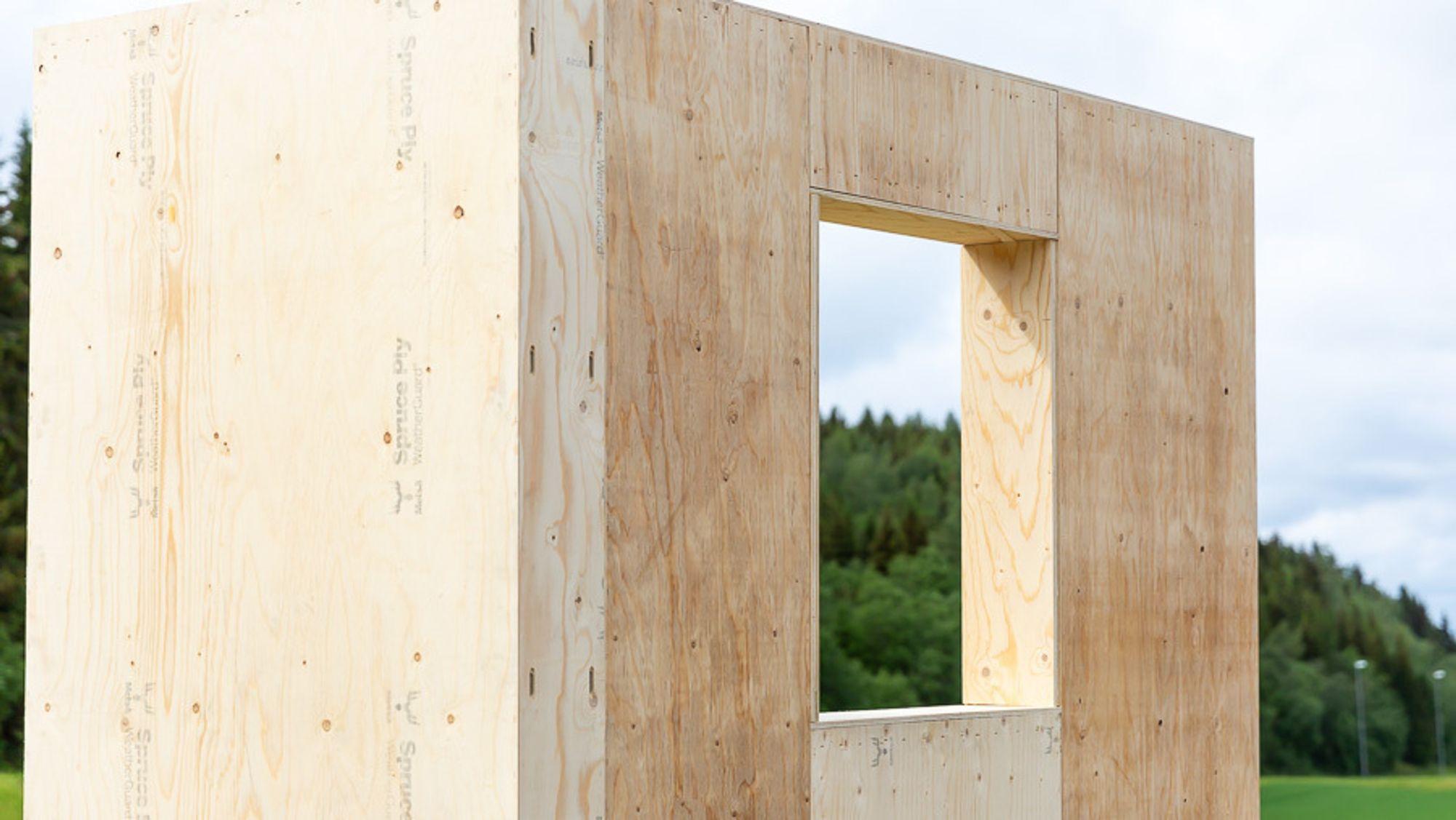 Planen er at modulene skal masseproduseres på en ny fabrikk i Trøndelag.