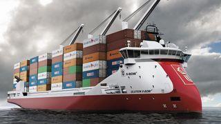 Nytt selskap vil bygge utslippsfritt containerskip