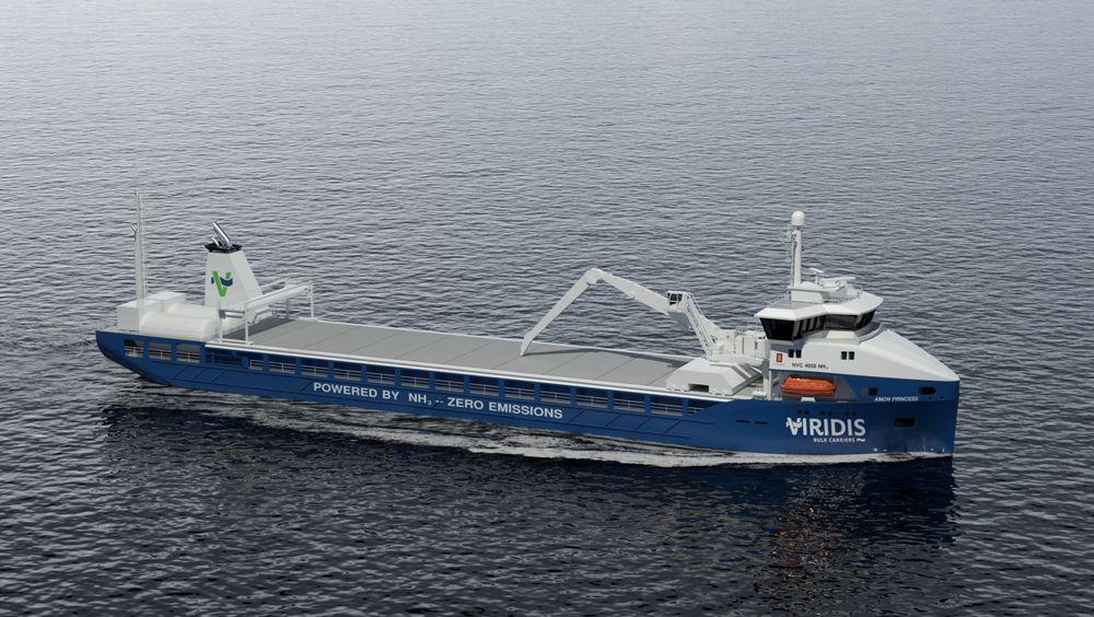 Skipene må gjennom en alternativ designprosess i og med at det ikke finnes noe regelverk for ammoniakkdrevne skip ennå.