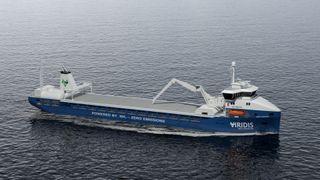 Rederi har skaffet kunder til en serie ammoniakkdrevne skip