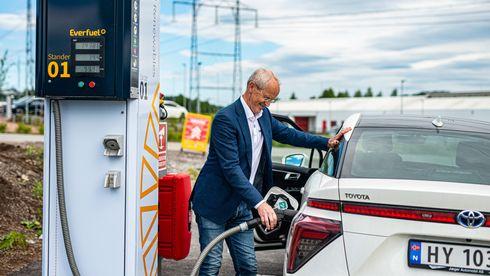 Neida, hydrogen i personbiler er ikke dødt: Nå dobles antallet fyllesteder
