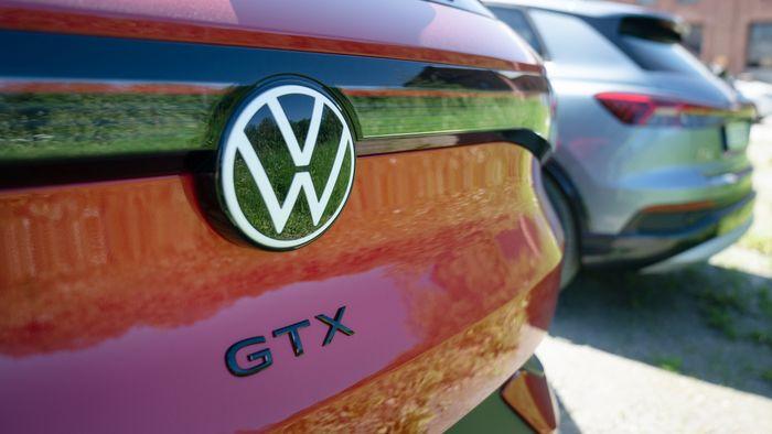 Audi Q4 E-Tron 40 og Volkswagen ID.4 GTX.