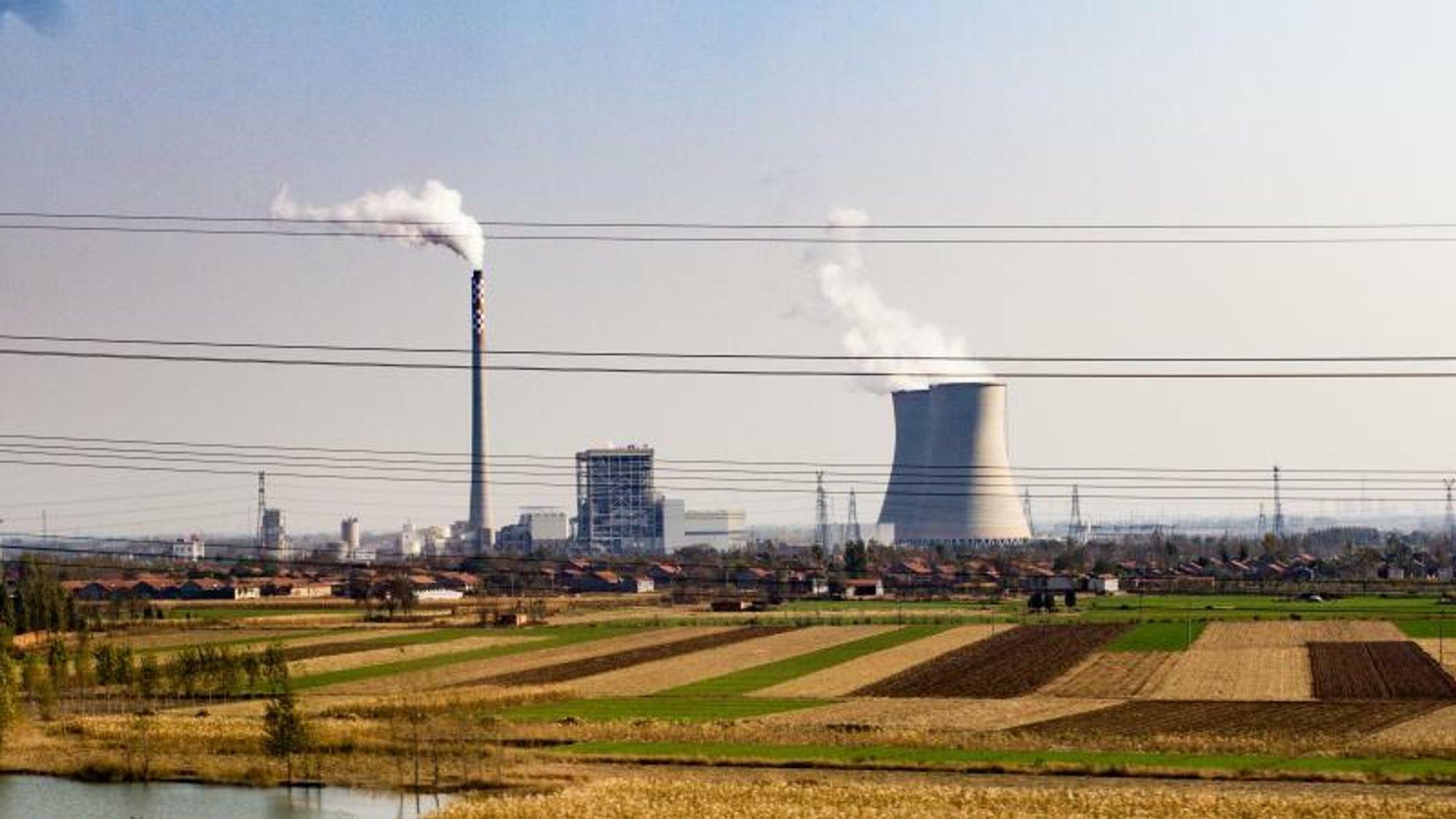 Kina er fortsatt veldig avhengig av kullkraft.