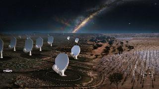 Verdens største radioteleskop er endelig underveis
