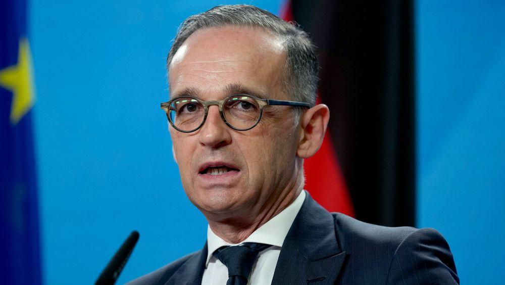 Tyskland, her ved utenriksminister Heiko Maas, er blant fem EU-land som er bekymret over at eksperter i EU-kommisjonen klassifiserer atomkraft som en grønn energikilde.