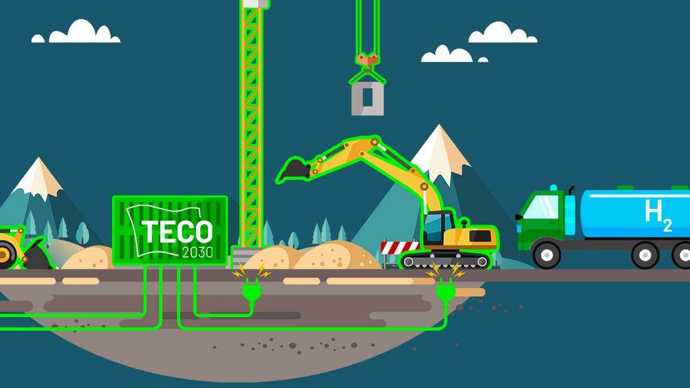 Om halvannet år kan norske entreprenører og byggherrer byttet ut dieselaggregatene med brencelsellegeneratorer.