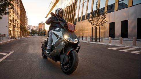 BMW CE 04 er en elektrisk motorsykkel for bybruk.