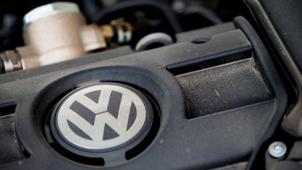 Volkswagen er blant selskapene som i dag ble bøtelagt av EU.