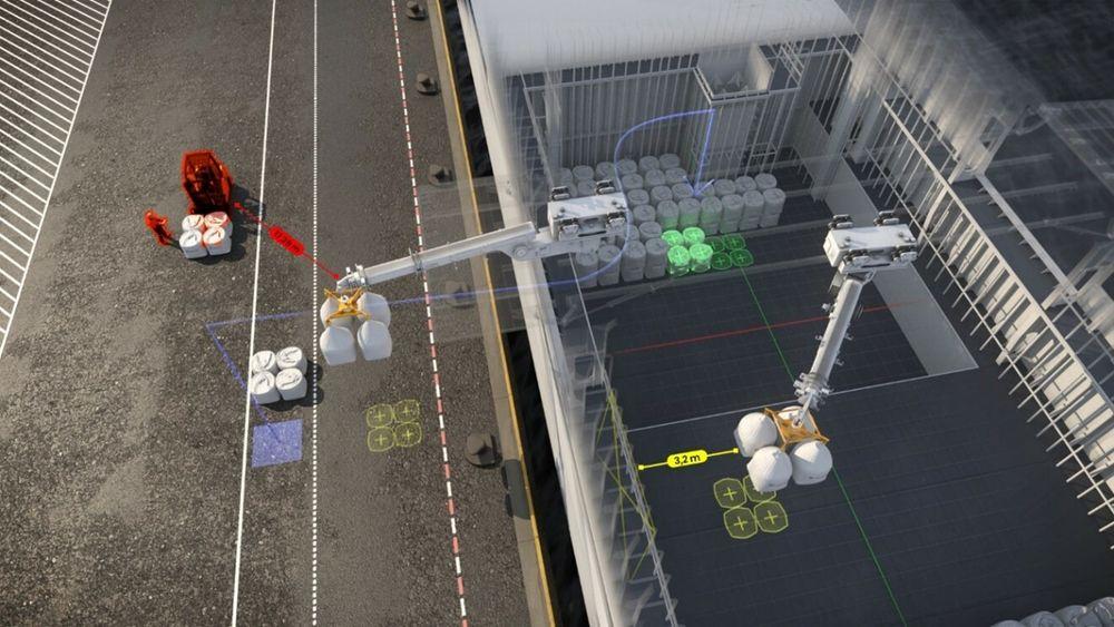 De autonome kranene kan føre til at det blir færre ulykker.