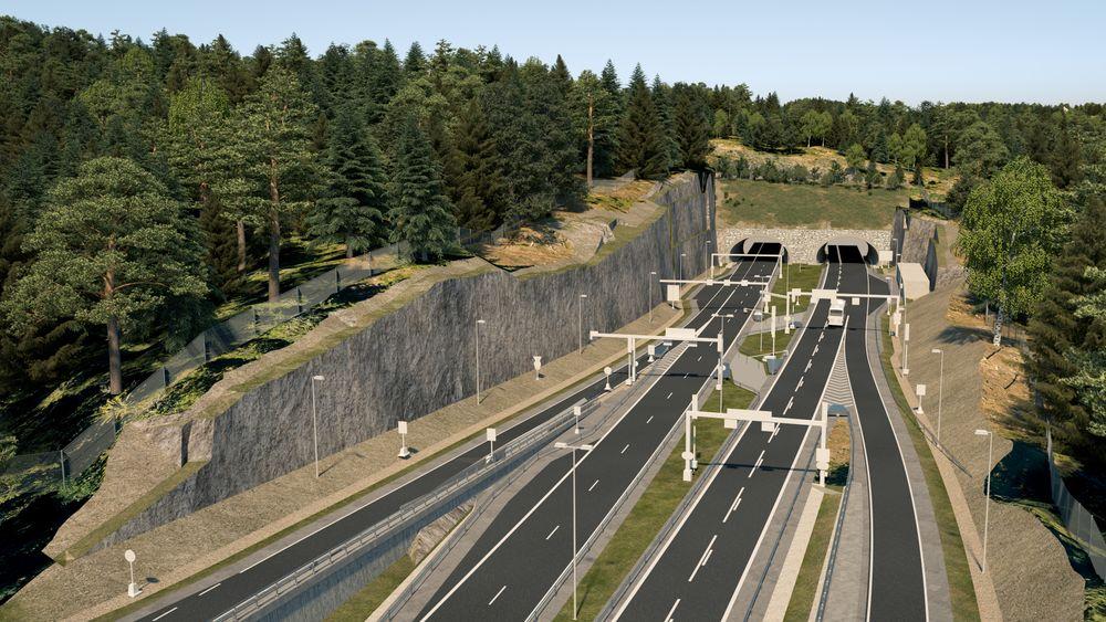Når nye E16 Bjørum – Skaret åpner i 2025, skal ikke trafikken lenger gå over Sollihøgda, men under. Det vil gjøre mye for trafikkavviklingen på strekningen, hvor det i dag er saktegående kø i utfartshelger. I