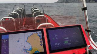 Ingen rekkeviddeangst, sier gründeren: Kjørte elbåt fra Florø til Ålesund